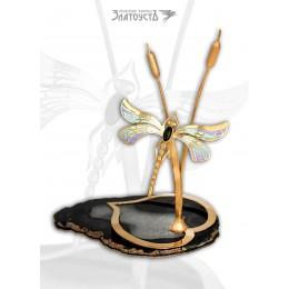 Сувенир «Золотая стрекоза»