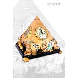 """Сувенир """"Часы Пирамида"""""""